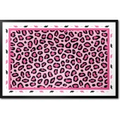 Pink Safari Border