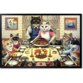 Don Roth - Feline Family Feast
